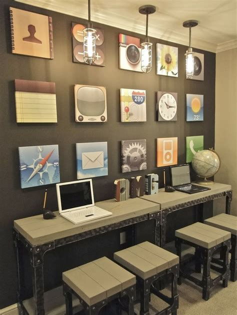 computer lab decor ideas  pinterest