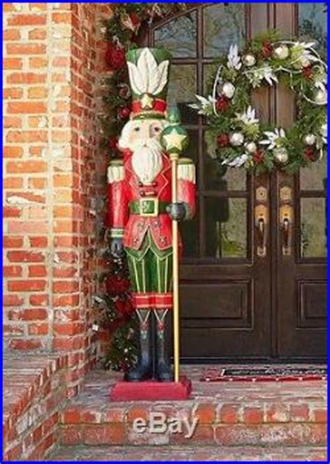 outdoor christmas decoration nutcracker life size indoor