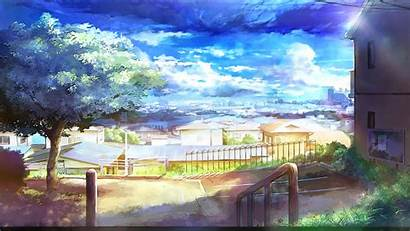 Painting Wallpapers Scenery Natural Fall Clouds
