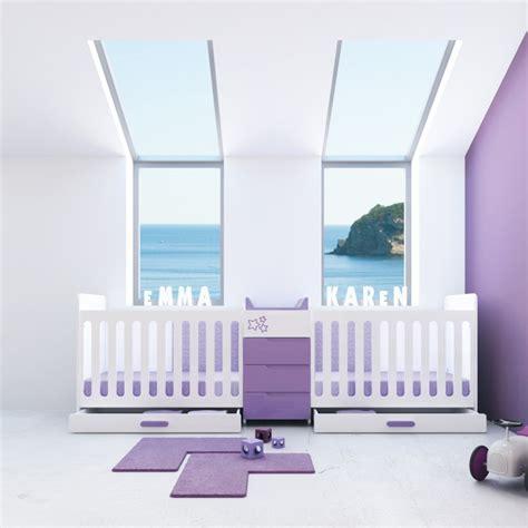 chambre bébé jumeaux beautiful chambre jumeaux evolutive gallery ridgewayng