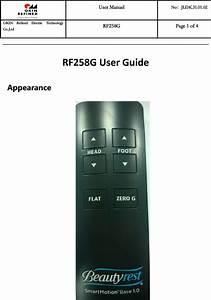 Keeson Technology Rf258g Remote User Manual 2 Rf258g User