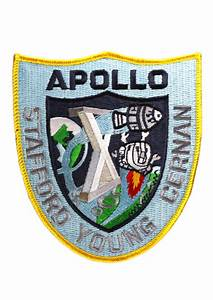 Apollo 10 Embroidered Mission Patch | Astronomy Now Shop