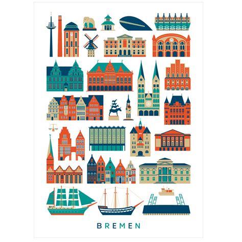 Human Empire Poster by Human Empire Stadt Bremen Poster 50x70cm Selekkt