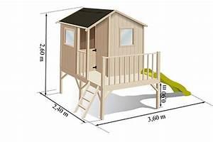 Cabane De Jardin Enfant : cabane enfant bois pas cher sur pilotis sixtine soulet ~ Farleysfitness.com Idées de Décoration