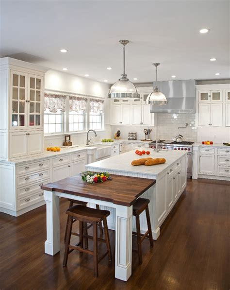 Transitional White Kitchen In Ny  Traditional Kitchen
