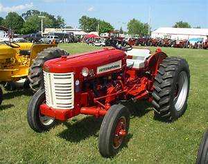 1956 International 300 Utility Tractor