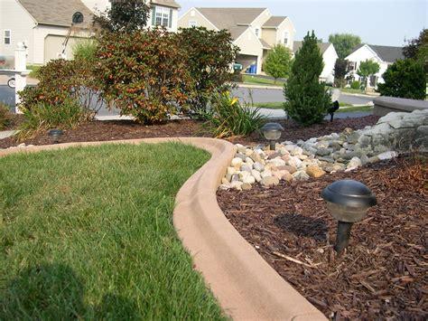 decorative curb and concrete decorative concrete curbing creative curbing