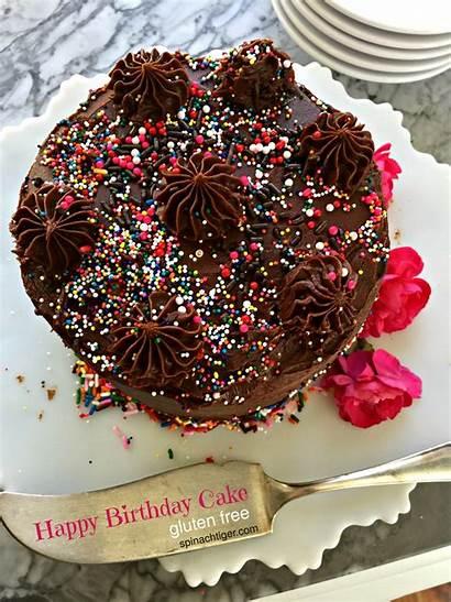 Cake Birthday Happy Yellow Gluten Chocolate Decorating