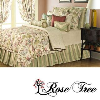 shop rose tree coventry  piece comforter set