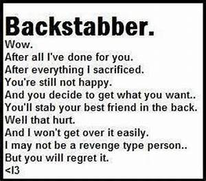 Images Of Quotes About Backstabbing Friends And Liars Summer