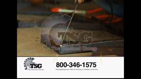 sentinel group tv commercial asbestos induced