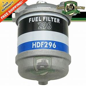 C5ne9165c New Ford Tractor Fuel Filter Assy  Single For 2000  3000  4000  5000