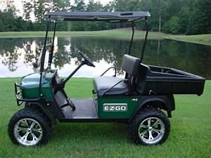 2012 Ez-go Workhorse 800 Cart - Used Cushman Titans