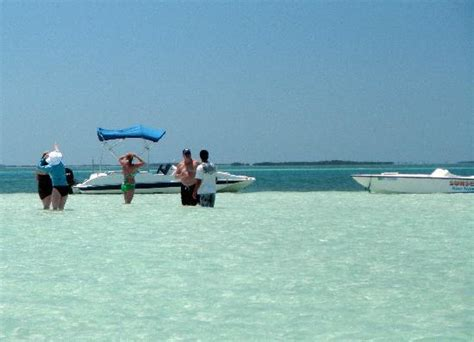 Enjoying The Sand Bar - Picture of Sunset Water Sports ...