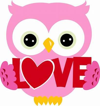Valentine Owl Clipart February Valentines Clip Reminder