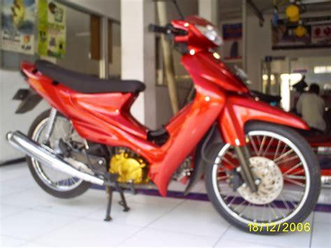 Foto Warna Kren Motor Smash by Smash 110 Modifikasi Warna Thecitycyclist
