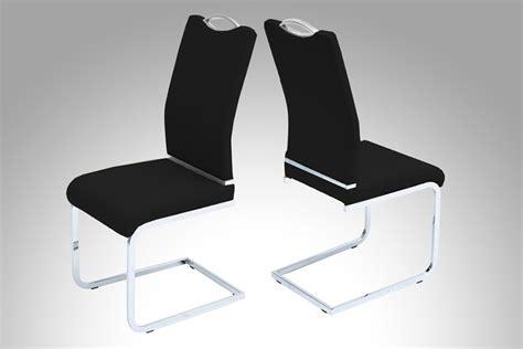chaise de salle à manger design chaises salle à manger noires meuble oreiller matelas