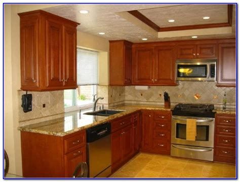 kitchen paint colors with maple cabinets photos 28
