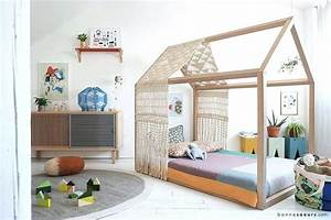 Lit Bebe Cabane : fabriquer lit cabane lit pour en photos fabriquer lit cabane en palettes il61 ~ Teatrodelosmanantiales.com Idées de Décoration