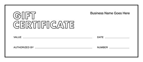 gift certificate templates free gift certificates square