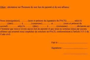 Attestation Sur L Honneur De Vie Commune by Ppt Attestation Sur L Honneur De Vie Commune Pacs