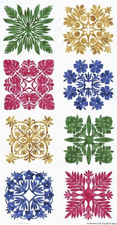 Hawaiian Quilt Patterns Quilts Applique Pattern Printable
