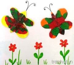 butterfly smudge template for kids butterfly craft