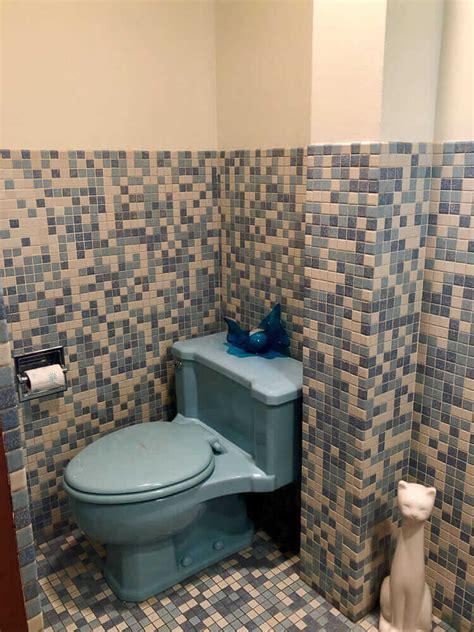 mosaic bathroom tiles  unique designs  kims  house