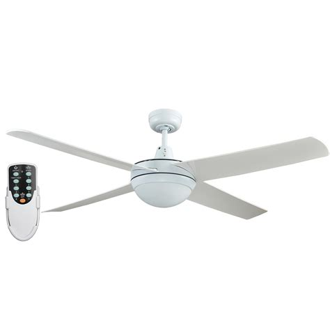 remote ceiling fan with led light rotor 52 inch led ceiling fan with abs blades in white