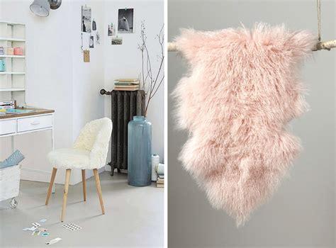 galette de chaise maison du monde où trouver de la déco en fausse fourrure joli place