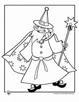 Wizard Coloring Pages Clash Clans Template Wizards Merlin Cool Templates sketch template