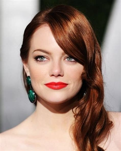 top redhead hairstyles  stylish celebrity red hair