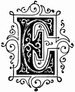 Decorative letter e clipart best for Decorative letter e