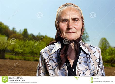 Old Farmer Woman Stock Photos - Image: 36662993