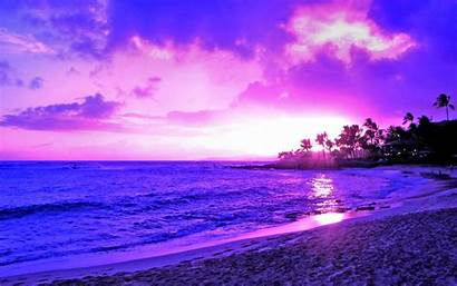 Purple Scenery Pretty Sunset Backgrounds Scenic Wallpapers