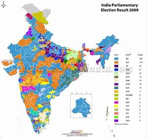 India General (Lok Sabha) Election 2014 Results