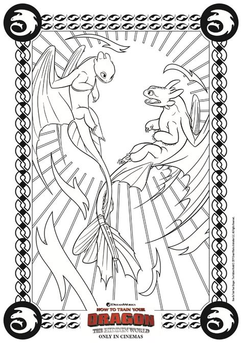 printable dragon coloring page    train