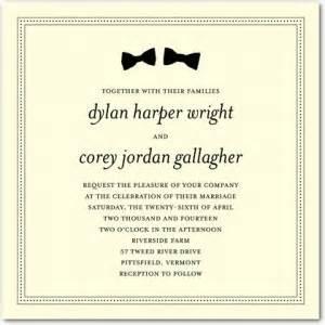 invitaciones de boda vive les maries With gay wedding invitations samples