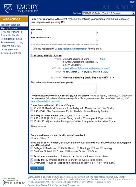 trumba event registration