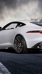 Wallpaper jaguar F type, coupe, white, startech , Cars