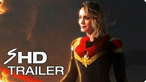 CAPTAIN MARVEL (2019) First Look Trailer - Brie Larson ...