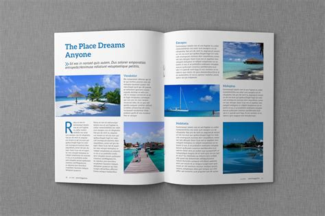 The Templat by Magazine Proposal Indesign Templates Dealjumbo