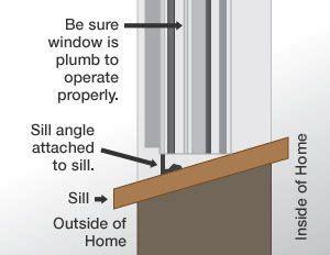 Window Sill Angle by Install New Window R E M O D E L A H O L I C Vinyl