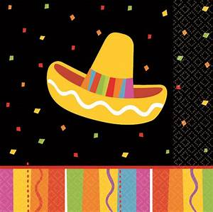 Guardanapo Coquetel Festa Mexicana Tema Mexicano Artigos para Festas Party City