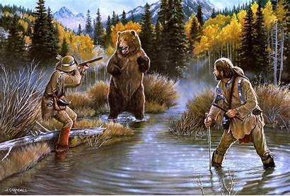 Western West American Desktop Background Wild Bear