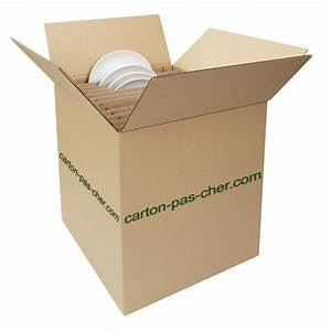 Carton De Déménagement Pas Cher : carton demenagement croisillon 24 assiettes qualit prix ~ Melissatoandfro.com Idées de Décoration