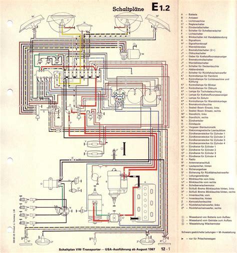 1993 Vw Beetle Wiring Diagram by Baduras Volkswagen T2 Bulli Seite Stromlaufpl 228 Ne