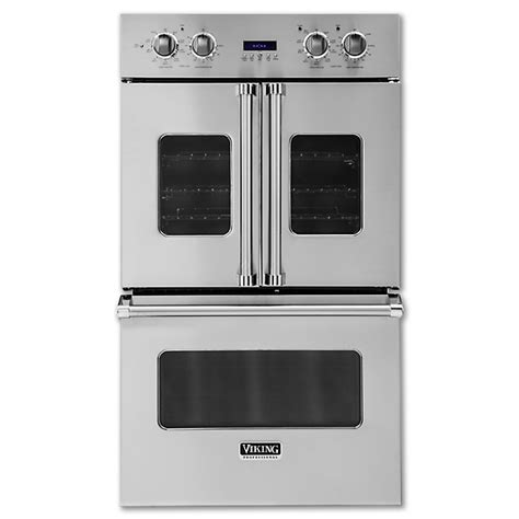 electric double french door oven vdof viking