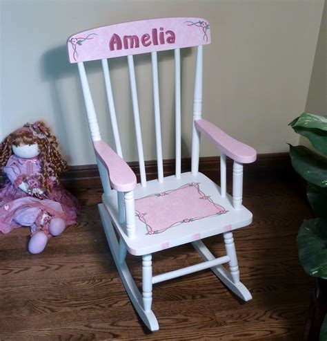 Attachment Personalized Rocking Chairs For Toddlers (1039