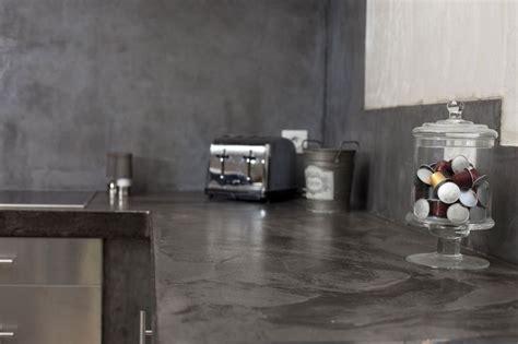 beton ciré cuisine plan travail plan de travail cuisine en 71 photos idées inspirations